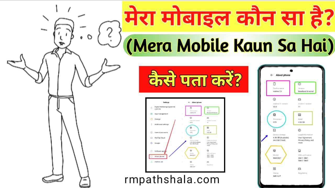 Mera Mobile Kaun Sa Hai | मेरा मोबाइल कौन सा है?